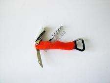 Штопор+нож+открывачка нержавейка 15 см.