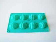 Форма силиконовая на планшете  Цветы из 6-ти 28 х 16 х 2,5 см.
