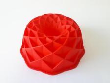 Форма силиконовая круглая с втулкой d 20 cm.