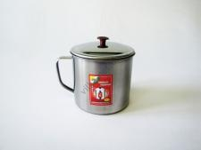 Кружка металл №11с крышкой   ААА VT6-14779-1 (150шт)