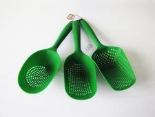 Набор лопаток-шумовок пластмассовых глубоких из 3-х 33 cm. (120 шт.)