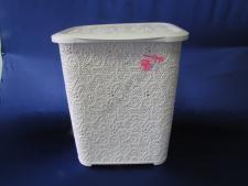 Корзина для белья Ажурная 45л ТР8006., 41cm x 32cm., h 48cm