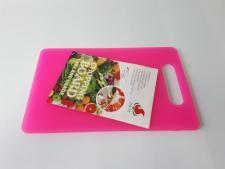 Доска пластмассовая цветная 30 х 19 х 0,8 см.