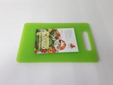 Доска разделочная пластмассовая 33*21 cm, t=0,8 cm.