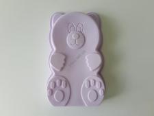 Форма силиконовая Мишка 25 х 16 х 3,5 см.