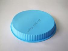 Форма силиконовая круглая 25 х h 3.5 см.