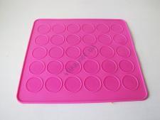 Форма силиконовая для выпечки Macarons 25 х 28 см (30 шт х 3,5 см)