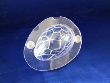 Форма из поликарбоната 3Д на магните  Яйцо 15 см.