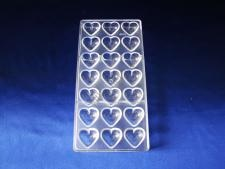 Форма из поликарбоната для конфет 2089 13,5 х 27 см.