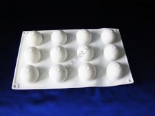 Форма силиконовая для муссовых тортов на планшете (15 шт) Сферы XY-C187  29 х 17 см.