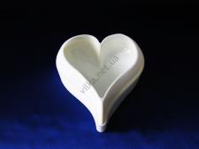 Форма силиконовая для муссовых тортов на планшете (1шт) Сердце XY-C192  17 х 16 см