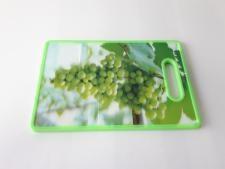Доска пластмассовая разделочная с 3D эффектом 29,5*20 cm, t=1 cm.