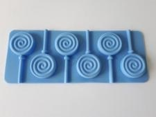 Форма силиконовая на планшете 9 х 14 из 6-ти для леденцов Цветы