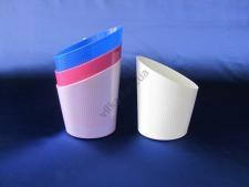 Кружка пластмассовая для молочного пакета  Конус