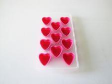 Форма пластмассовая для льда 11 х 22  Сердце