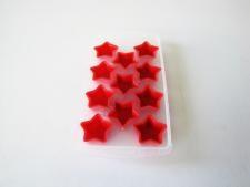 Форма пластмассовая для льда 11 х 22 Звезда