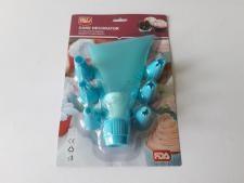 Мешочек силиконовый + 6 пластмассовых насадок