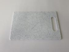 Доска пластмассовая серая крошка 20 х 30 х 0,8 см.