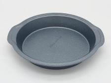Форма тефлоновая серая крошка d 26 h 5 см.