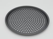 Форма тефлоновая для пиццы перфорированная d 29,5 см.