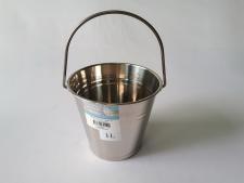 Ведро нержавеющее для льда 13,5 х 12 cm  1 L