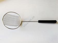 Шумовка нержавеющая с пластмассовой ручкой d 8 cm L 23 cm