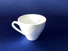 Чашка керамическая белая 260 мл. d 10 h 8,5 см.