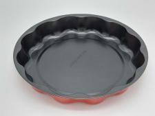 Форма тефлоновая черная d 30 cm, h 5 cm