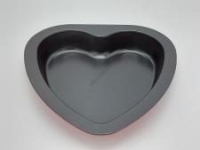Форма тефлоновая черная Сердце 23 х 22,5 х 3,5 cm