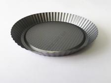 Форма тефлоновая черная Волна d 26,6 cm, h 4 cm
