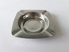 Пепельница металлическая квадратная d 11,5 см., h 2cm