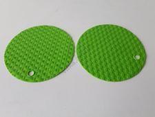 Подставка силиконовая под горячее d 15 см. в наборе из 2-х