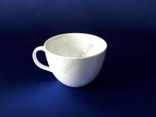 Чашка керамическая белая d 10,5 h 8 см. 300 мл.