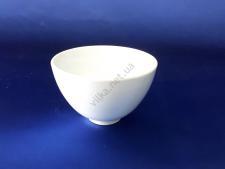 Салатник керамический белый d 10 см.  h 7 cм. 175 мл.