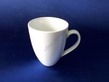 Чашка керамическая белая d 10 см. h 13 см. 600 мл.