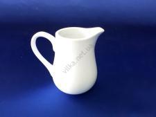 Молочник керамический белый 160 мл.