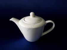 Чайник керамический белый 12 х 12 см. 700 мл.