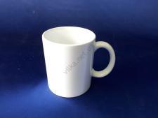 Чашка керамическая белая цилиндр d 8 см. h 9,5 см. 300 мл.