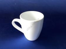 Чашка керамическая белая d 8,5 h10 см. 290 мл.