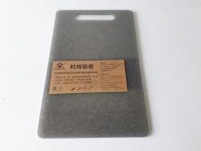 Доска пластмассовая серая крошка 25 х 40 х 0,7 см.