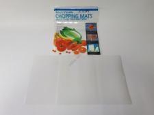 Доска разделочная пластиковая гибкая в наборе из 2-х  38*30 cm.