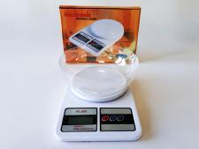 Весы кухонные пластмассовые электронные до 10 кг