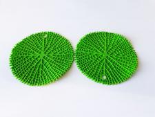 Подставка силиконовая под горячее d 20 cm в наборе из 2-х