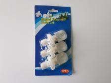 Пробка пластмассовая для бутылок в наборе из 3-х 7cm