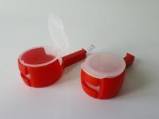 Крышка пластмассовая для пакетов в наборе из 2-х 13,5cm