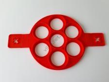 Форма силиконовая для оладьей (7 порций) d 23cm., с ручкой L 40cm Круглая