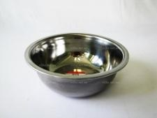 Миска нержавеющая глубокая 1-ый сорт 20 см (1,3 л)