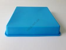 Форма силиконовая квадратная для выпечки 19*19 cm, h 4 cm.