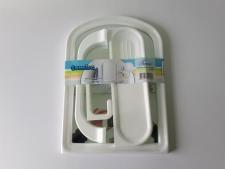 Набор в ванную арка TUNA +5 аксессуаров 293 х 403 mm.