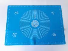 Салфетка силиконовая кондитерская с разметкой 50*70 cm.